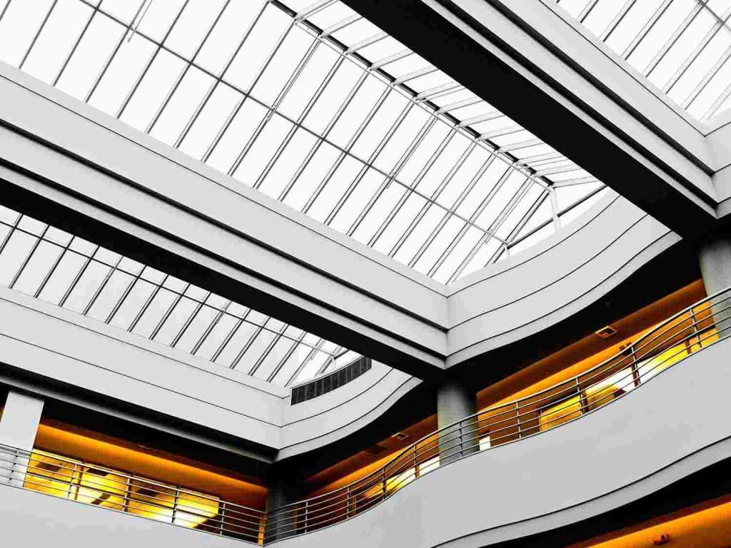 Polycarbonat Dach