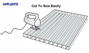 Easy to cut by common tools.