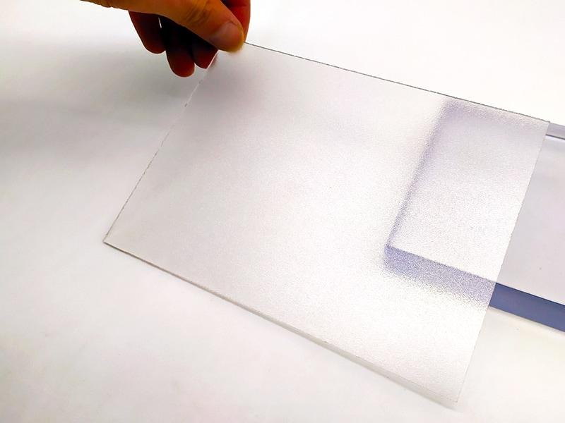 UVPLASTIC Matte Polycarbonatplatten