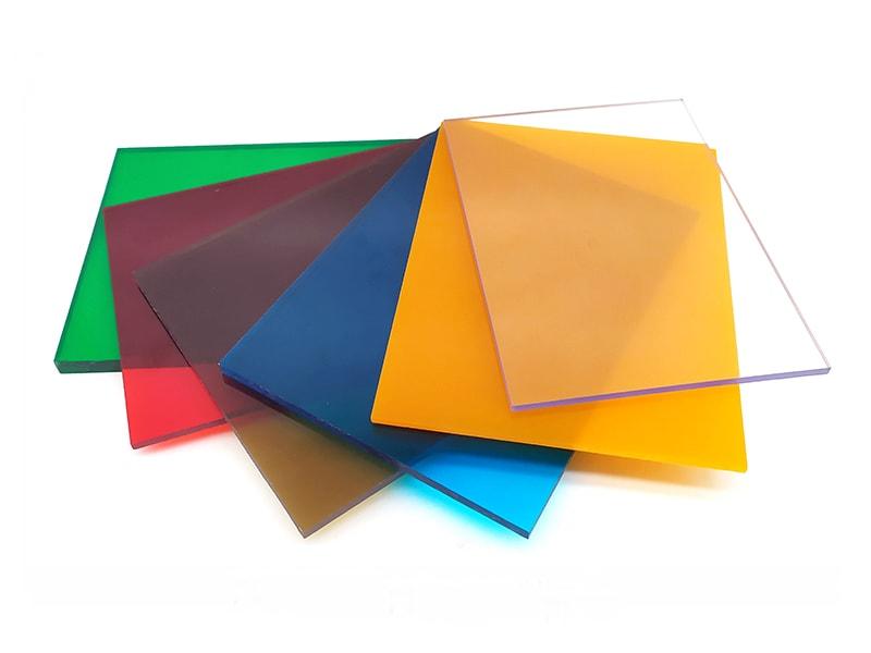 getönte Polycarbonatplatten