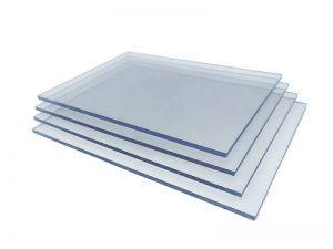 Fire retardant polycarbonate sheet