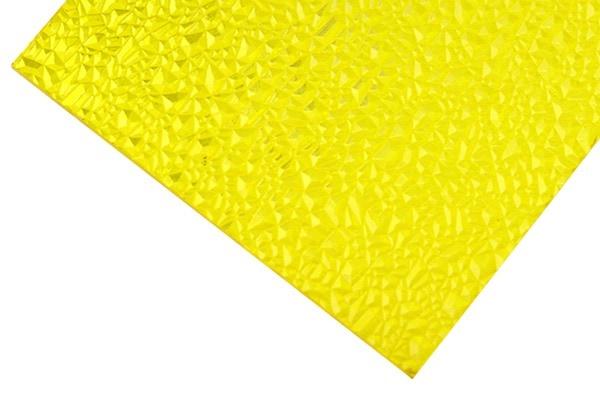 Gelbe Strukturierte Polycarbonatplatten