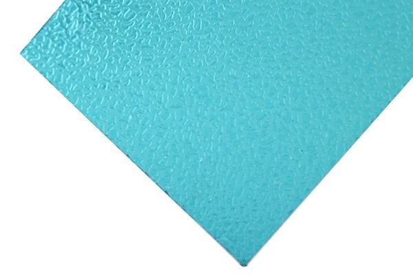 Grüne geprägte Polycarbonatplatten
