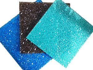 Strukturierte Polycarbonatplatten