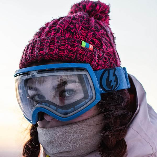 Kunststoff-Schneebrille Visier