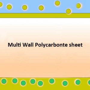 Coating multi wall polycarbonate