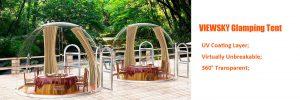 Glamping dome kit