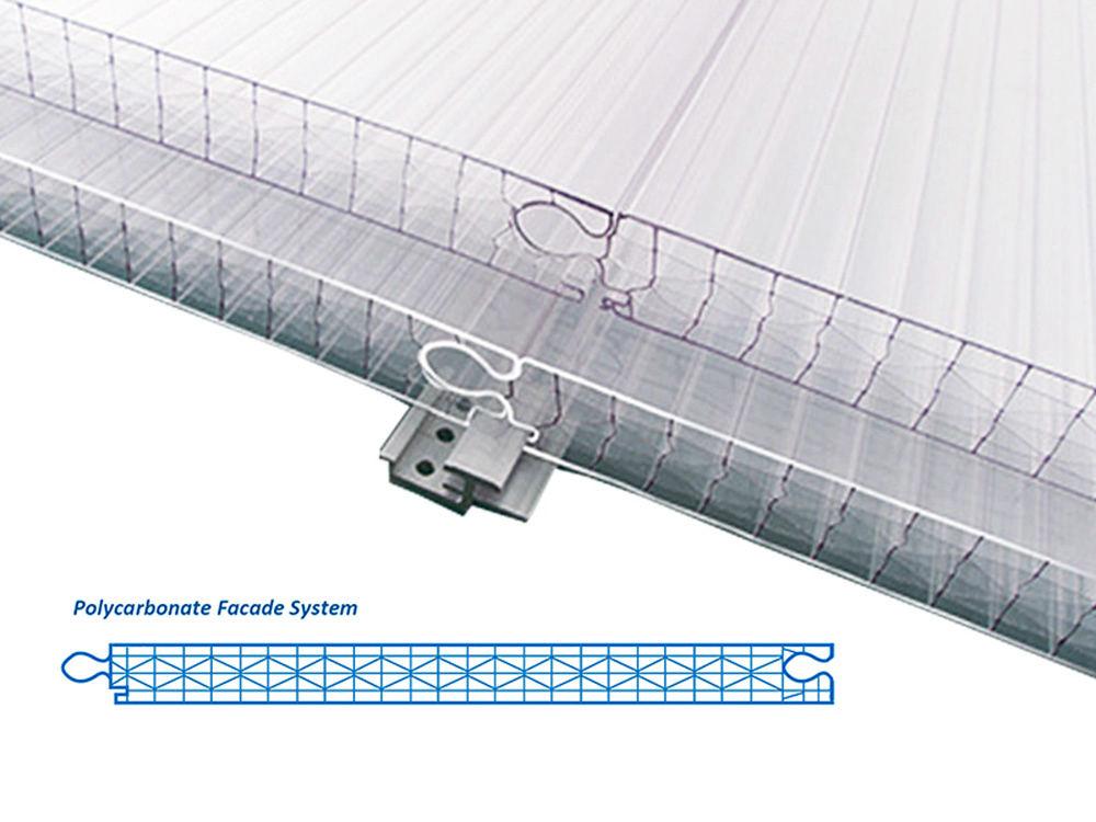 Polycarbonat Fassadenplatten