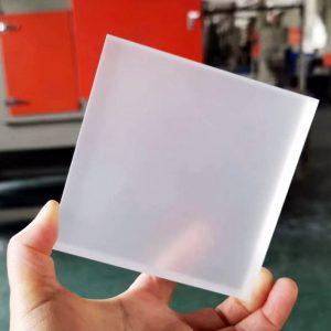 sanding plexiglass