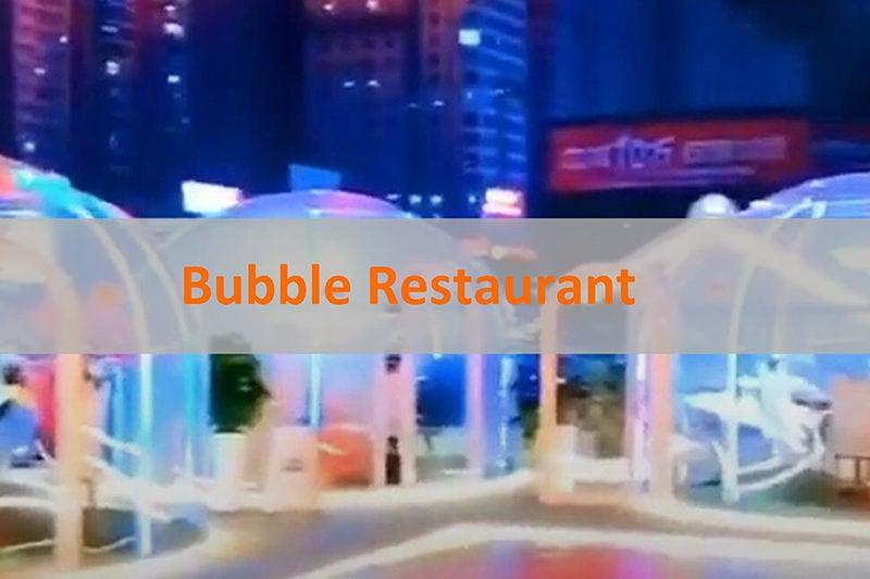 Glamping Restaurant