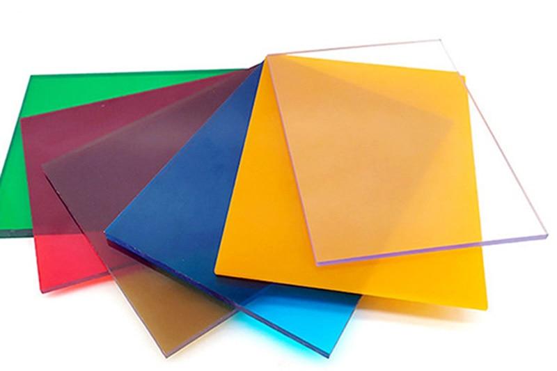 Flache Massiv-Polycarbonatplatten