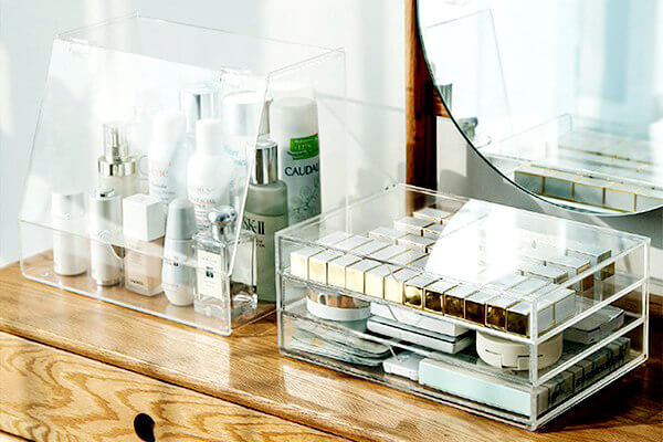 Acrylglas Schminkbox
