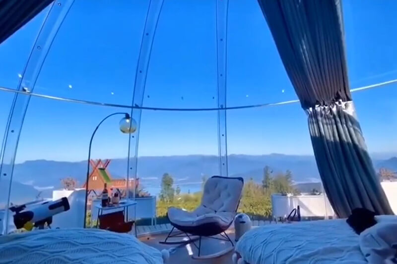 Bubble Huts