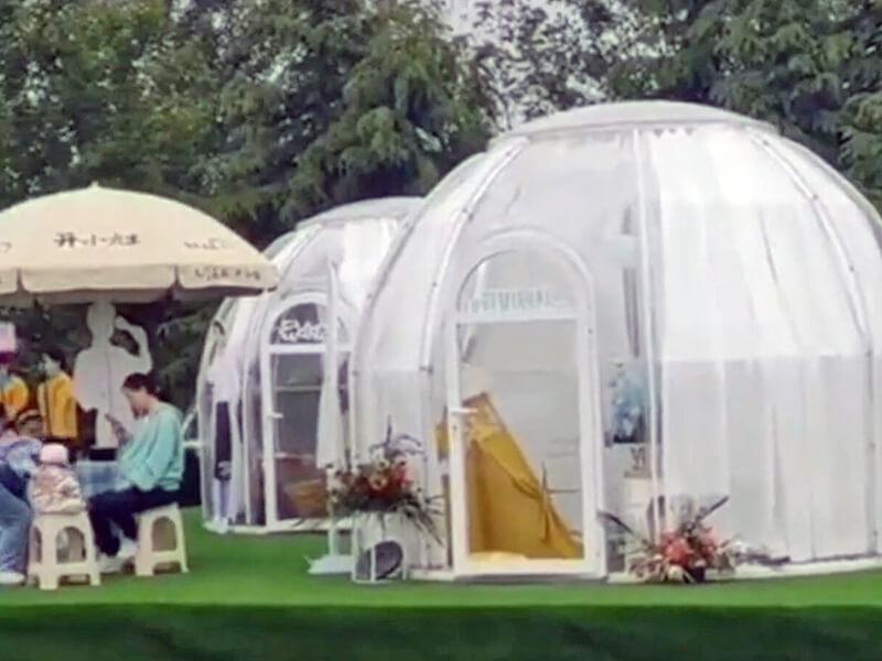 POP display dome