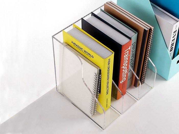 Acryl Schreibtisch-Sammelbox