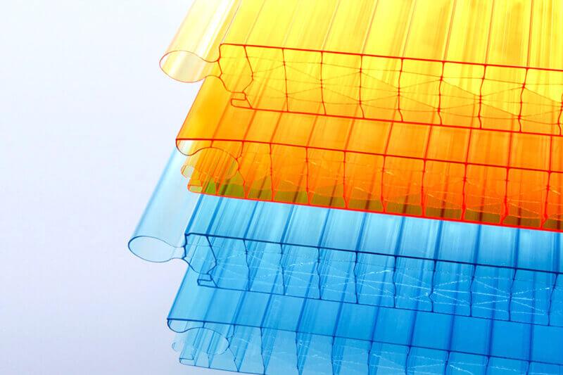 Polycarbonat Fassade