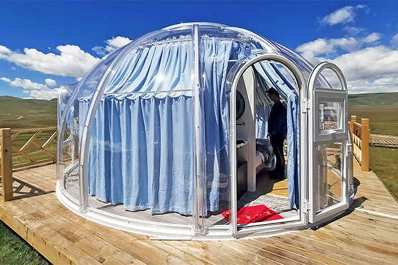 Bubble Zelt Hersteller