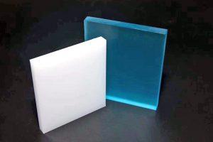 Acrylplatten farbig